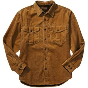 🌵 Faded Glory Men's Flannel Lined Corduroy Shirt